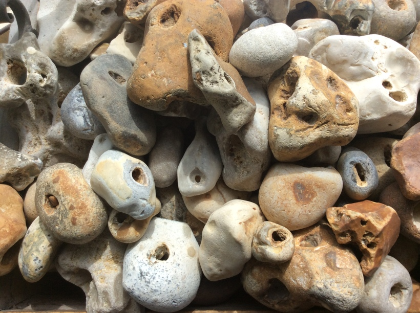 Hagstones Puffins And Pies Stones with natural holes, or holey stones also called. hagstones puffins and pies